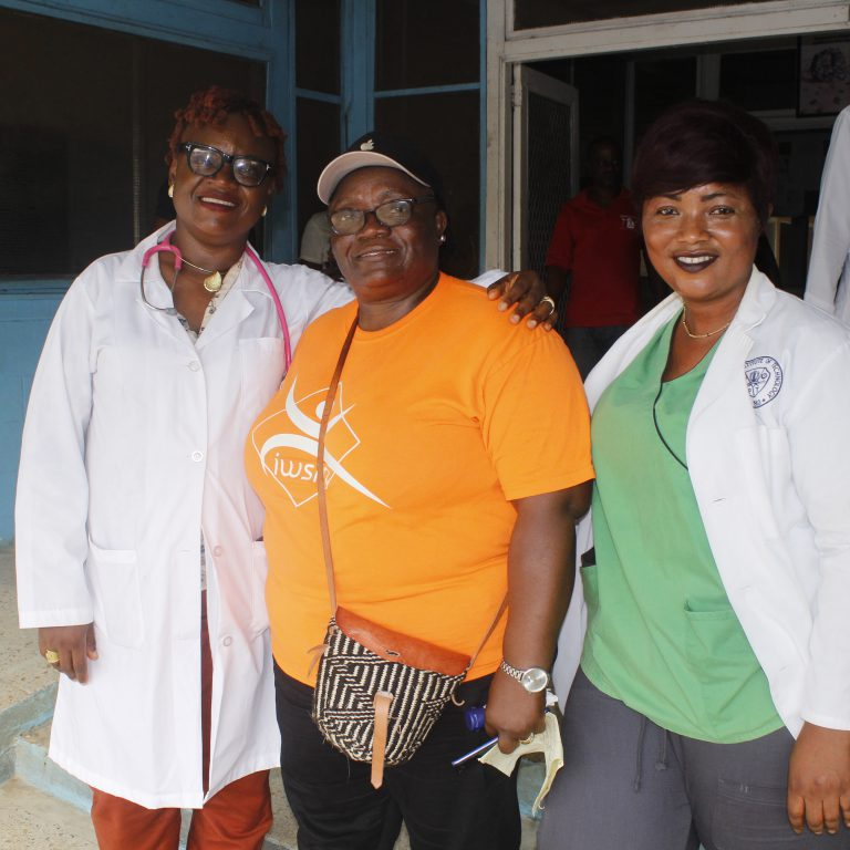 Family Health Director w/ Bomi County Health Workers